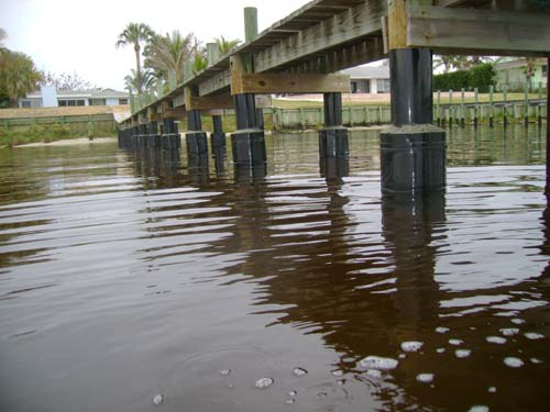 All Around Docks Piling Reinforcement System